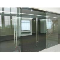 安裝玻璃隔斷 大興安裝噴砂鋼化玻璃隔斷