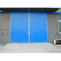 工业平移门 彩钢板推拉门 上悬挂系统移动