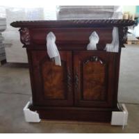 【家百适】美式实木床头柜    外贸尾单
