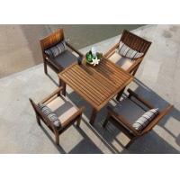 户外家具柚木方桌扶手椅子