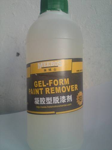 凝胶型脱漆剂