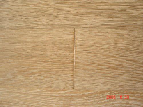 四合三层实木地板 橡木-白珍珠色