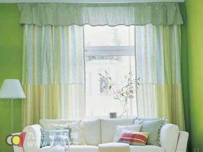 解析窗帘自身的图案以及秘密