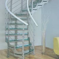 南京楼梯-南京御步楼梯--玻璃踏步楼梯-20