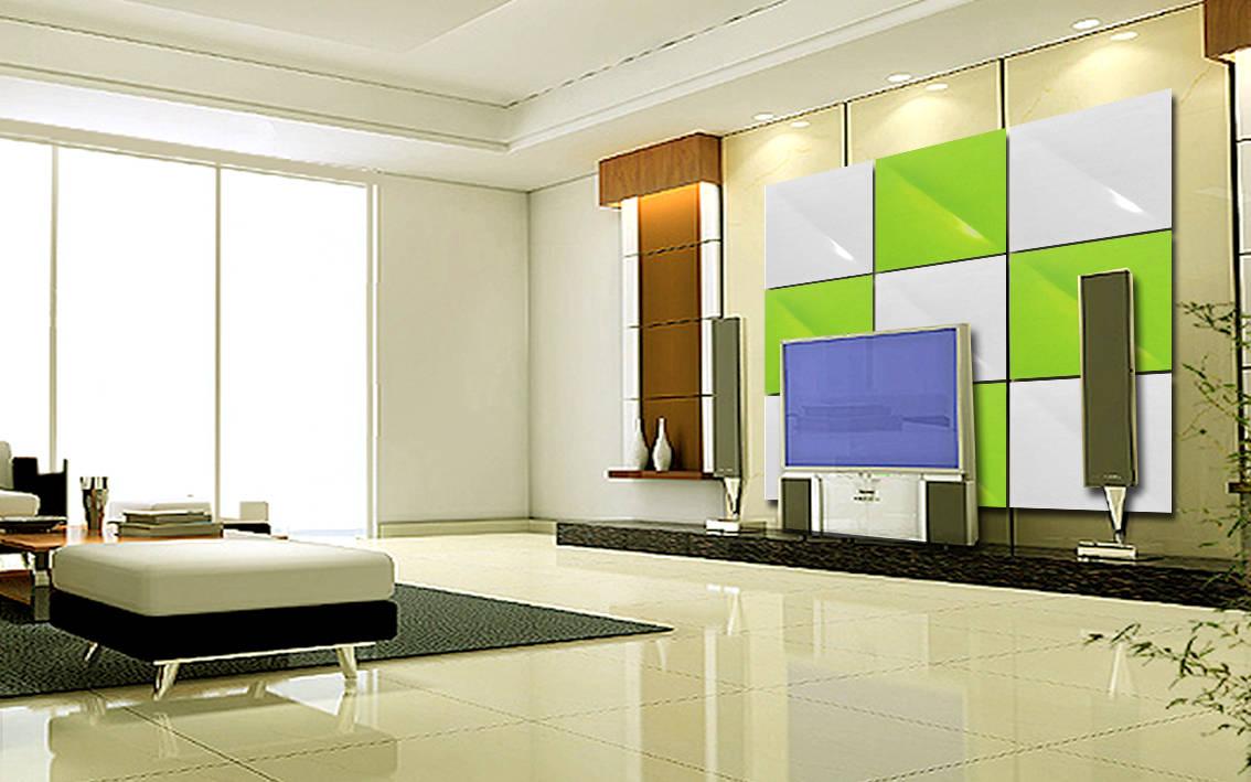 梦幻的壁纸效果和梦幻的室内装饰效果,能代替文化石,墙纸,涂料,型材且