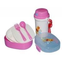 儿童套装餐盒 pp塑料饭盒 儿童餐盒 儿童水壶 礼品套装