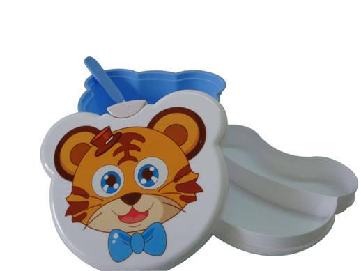 虎宝宝餐盒 卡通餐盒 老虎饭盒