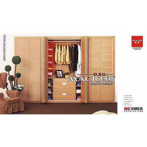 玛格 定制家具 畅想木歌 开门系列 开门衣柜