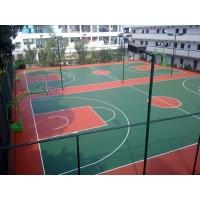 宁波塑胶篮球场施工