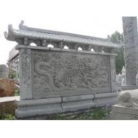 石雕九龙壁,厂家石雕龙柱,石雕华表