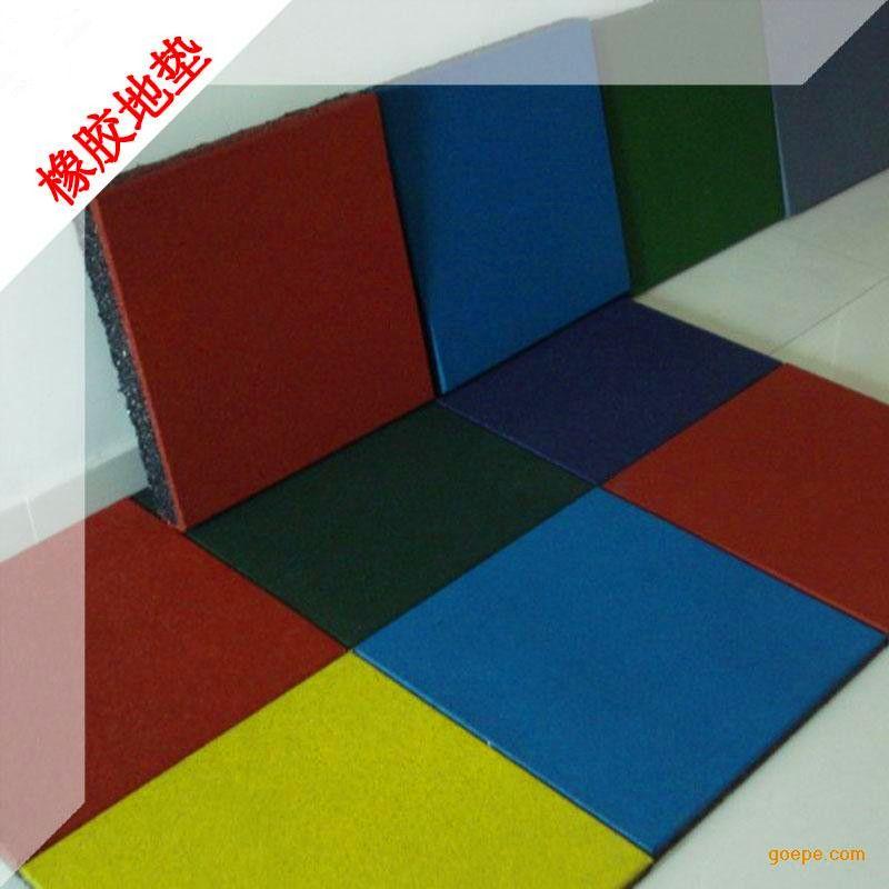 厂家直销供应全国范围内的橡胶地垫,橡胶地板,橡胶地砖