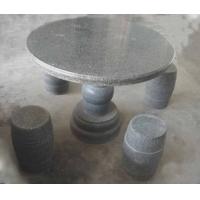 石质桌子,凳子