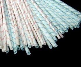 2.5KV黃臘管 聚氯乙烯玻纖管 紅條紋黃臘管-- 廣州酷華
