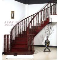 深圳泰林实木楼梯 别墅楼梯 家用楼梯 工厂直销 手工雕刻