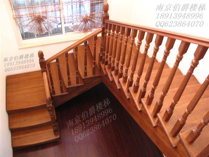 钢木成品 单梁楼梯 实木钢玻成品双梁楼梯 伸缩楼梯 折叠楼梯 高档