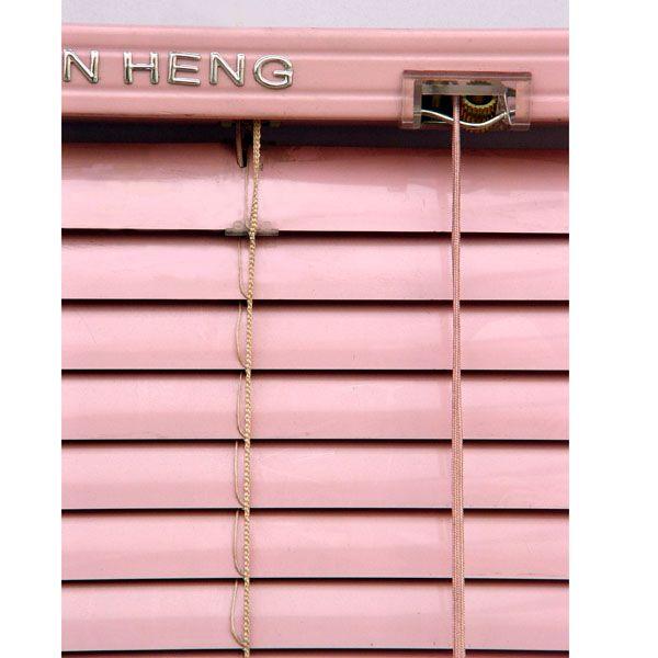 铝合金配色百叶帘2.5cm|金恒窗帘