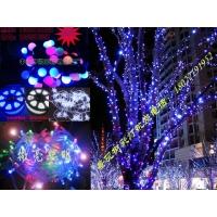 街道景观树彩灯/步行街树上彩灯/景观树满天星灯串