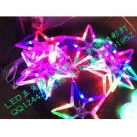 圣诞挂树LED星星灯串/树上缠绕LED景观星星彩灯