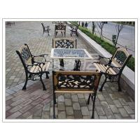 铸铁桌椅 休闲桌椅 铸铁桌 铸铁椅子 休闲家具 户外休闲用品