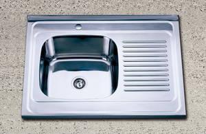 带挡水板不锈钢水槽