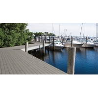 苏州木塑铺板第一码头海岸湖滨平台栈道防水塑木地板