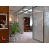 双层玻璃内置百叶帘|玻璃隔断|成品隔断|办公隔断|上海|名沃