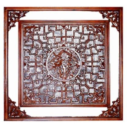 成都东阳木雕-仿古门窗xn-022