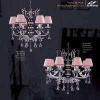 南京铁管水晶灯-富兴水晶灯-铁管水晶灯系列