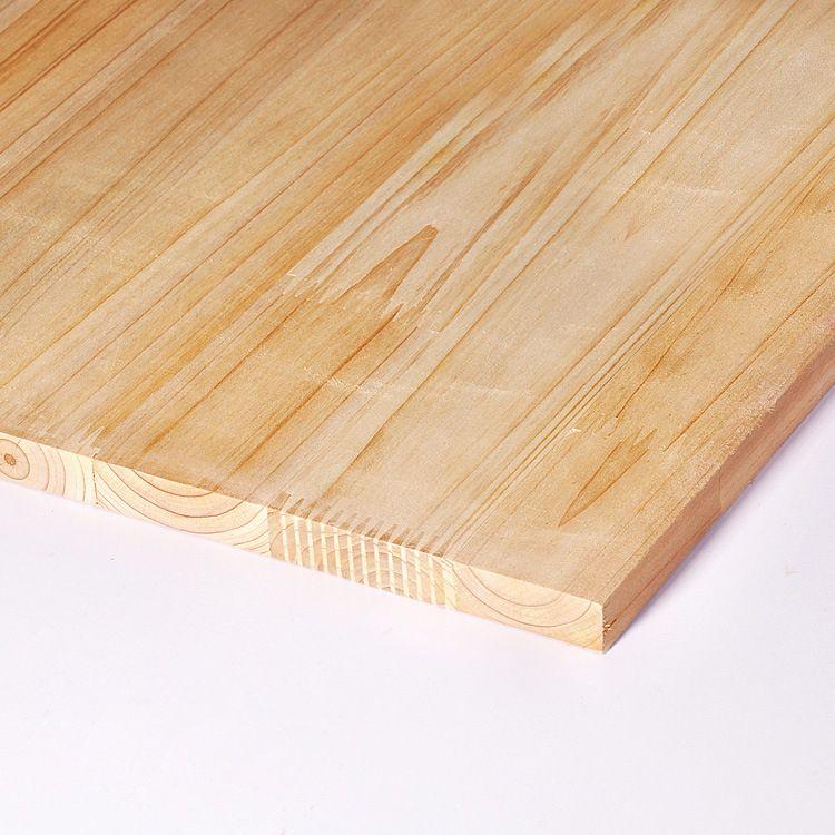 e0级17mm无节香杉木指接板集成板实木