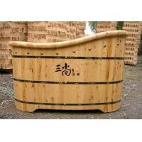 三尚香柏木浴桶木桶浴足桶-包边贵妃桶