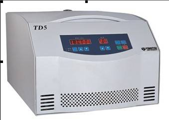 TD5台式多管架离心机