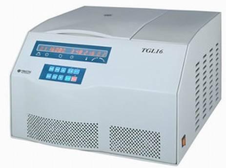 TGL16台式高速冷冻离心机