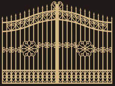 华步坚伟铝艺大门,铝艺阳台护栏产品图片,华步坚伟铝艺大门,铝艺