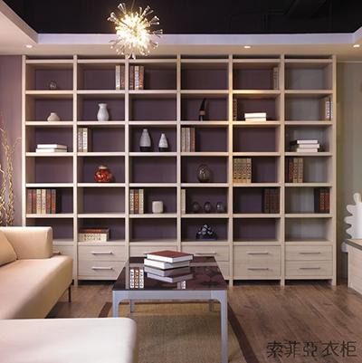 成都书柜-索菲亚F款书柜