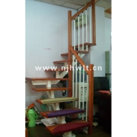 南京钢木楼梯-宏伟钢木楼梯-43
