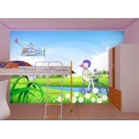 供应河南赛欧福 卡通类壁画 壁纸 墙纸 儿童房装饰墙贴