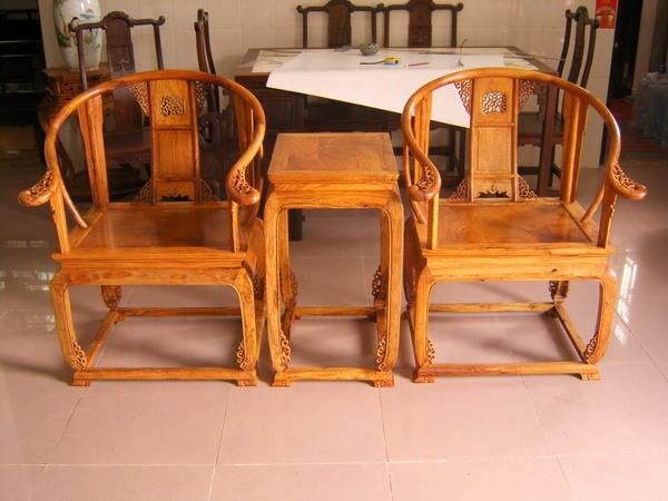 仿古家具-黄花梨皇宫椅