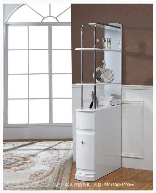 洁仕高卫浴-压克力盆浴室柜 温妮莎隔断柜