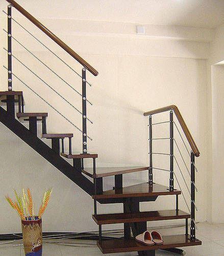 钢木楼梯产品图片,钢木楼梯产品相册