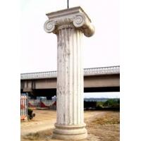 石狮子 汉白玉栏杆 汉白玉雕塑 北京恒奇利强石材雕刻厂