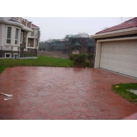 彩色混凝土,压模地坪,压模地面,压花地面,装饰混凝土,纸模地