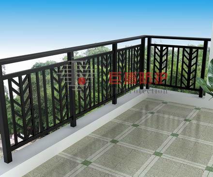 铝合金栏杆 铝合金阳台护栏