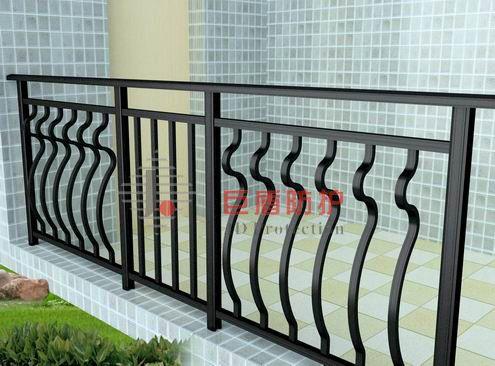 供应铝合金栏杆 铝合金护栏 铝合金阳台护栏