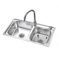 米美卫浴 精美不锈钢水槽带水龙头套装MS-30388