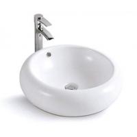 米美卫浴 现代风格 陶瓷洗手盆 洗脸盆 台盆 艺术盆5033