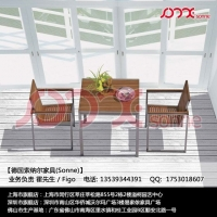 餐厅餐台-餐椅-不锈钢柚木(柚木餐厅家具)