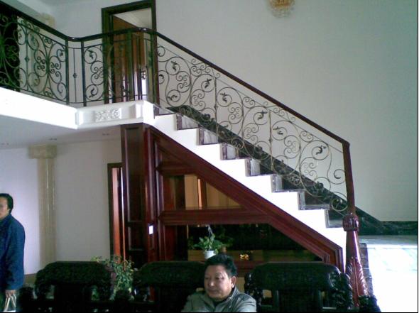 美雅铁艺 楼梯扶手