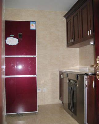 厨房装修效果图 - 河北省石家庄美大集成环保灶总经销