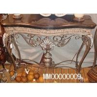 铁架云石面树脂桌
