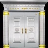 供应承德不锈钢罗马柱门-赣州不锈钢门